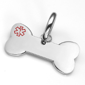 Dog Bone ID Charm